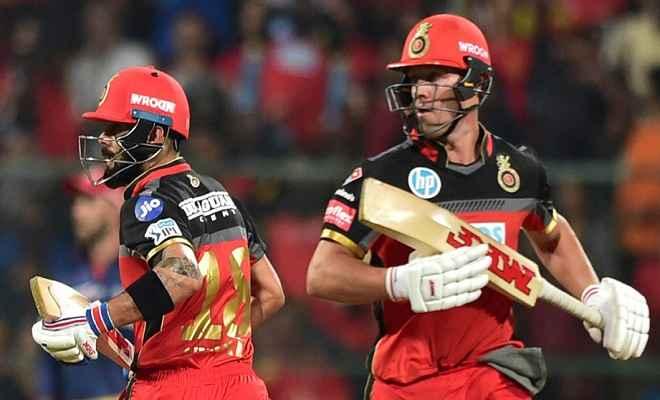 आईपीएल 2018: डिविलियर्स ने निकाला दिल्ली का दम, बेंगलुरु की मिली दूसरी जीत