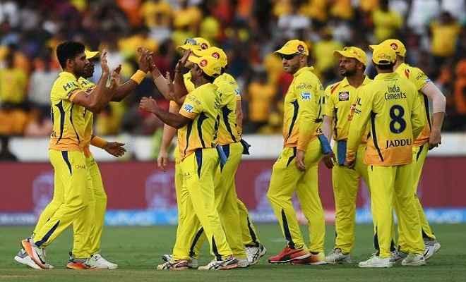 आईपीएल : रोमांचक मुकाबले में चेन्नई ने हैदराबाद को 4 रनों से हराया