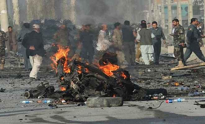 अफगानिस्तान में हुए आत्मघाती हमला में मरने वालों की संख्या बढ़कर 57 हुई