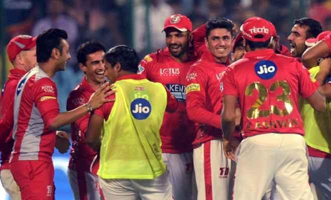 आइपीएल 2018: किंग्स इलेवन पंजाब ने दिल्ली डेयरडेविल्स को 4 रनो से हराकर अंक तालिका में पहुंची पहले नंबर पर