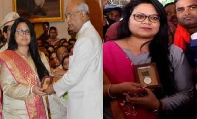 दिल्ली से रांची लौटी शहीद प्रमोद कुमार की पत्नी का भव्य स्वागत