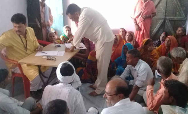 पंचायती राज दिवस पर ग्राम सभा का आयोजन