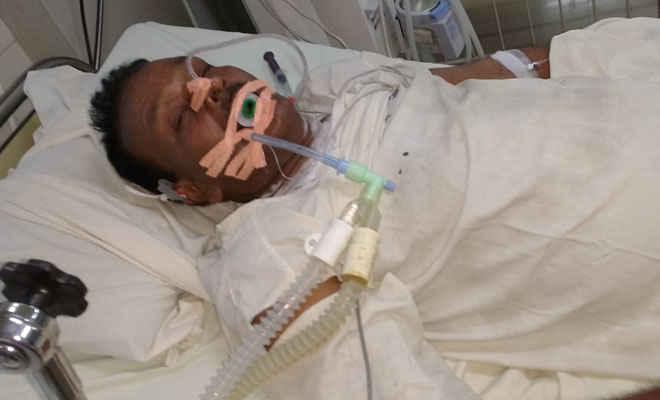 बेहोशी की अवस्था में मिले पैक्स अध्यक्ष शिवजी साह, गंभीर अवस्थ में रक्सौल के डंकन स्पताल में भर्ती