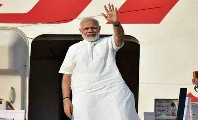 प्रधानमंत्री मोदी चीन की यात्रा पर रवाना होने से पहले बोले, वैश्विक मुद्दों पर होगी बात