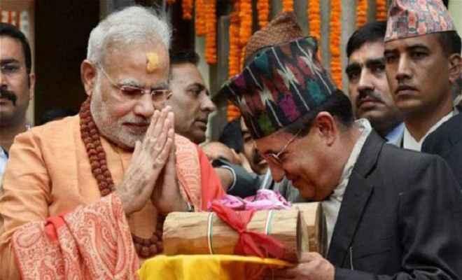 जानकी मंदिर पहुंचे प्रधानमंत्री, लगे मोदी-मोदी के नारे