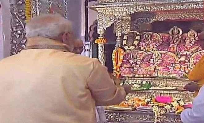 जानकी माता मंदिर में पूजा करना मेरे लिए सौभाग्य की बात : प्रधानमंत्री