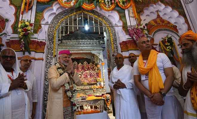 नेपाल के जानकी मंदिर में षोडशोपचार पूजा में शामिल होने वाले पहले भारतीय प्रधानमंत्री बने मोदी