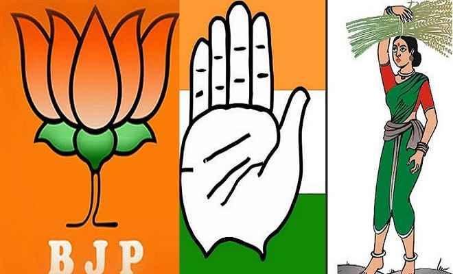 कर्नाटक में सरकार बनाने के लिए कांग्रेस-जेडीएस और भाजपा का विधायकों के साथ बैठक शुरू