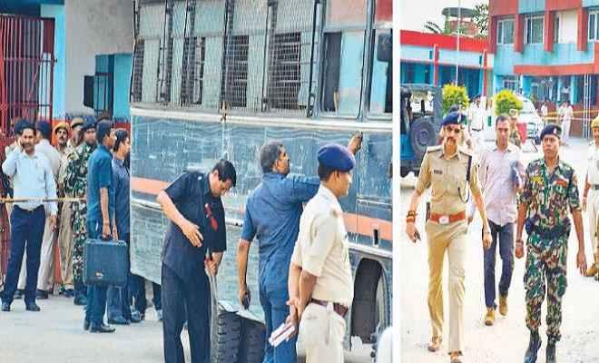पटना सिटी कोर्ट में पेशी के बाद लौट रहे कैदियों के वाहन में विस्फोट, 5 पुलिसकर्मियों ने संभाला मोर्चा