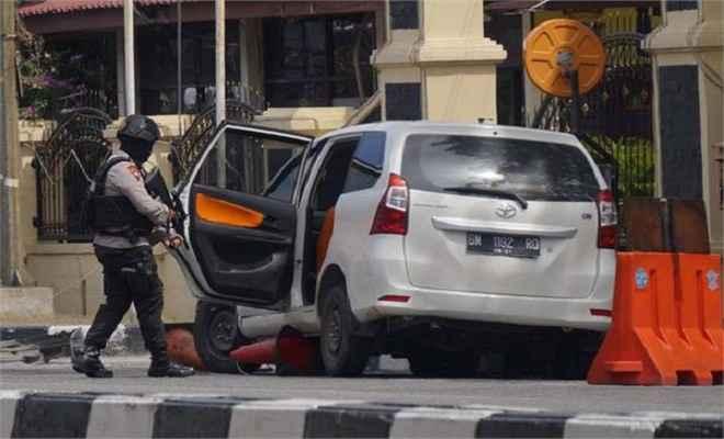 इंडोनेशिया में फिर पुलिस हैडक्वॉर्टर पर आतंकी हमला, एक जवान सहित 5 की मौत