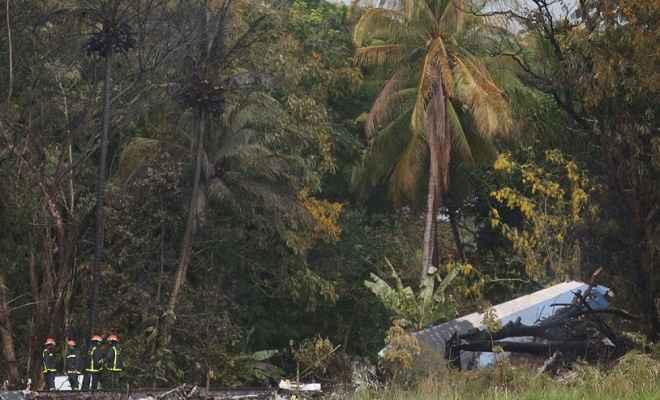 क्यूबा में दुर्घटनाग्रस्त हुआ यात्री विमान, 100 से ज्यादा लोगों की मौत