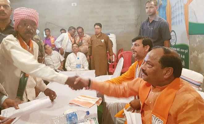 झारखंड की जनता का स्वाभिमान नहीं खरीद सकते भ्रष्ट लोग: मुख्यमंत्री रघुवर दास