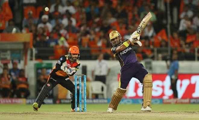 आइपीएल 2018: कोलकाता ने हैदराबाद को पांच विकेट से हरा प्लेऑफ में बनाई जगह