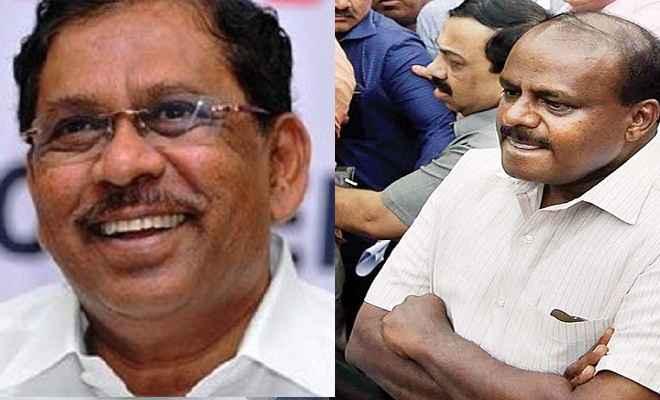 कर्नाटक में कांग्रेस+जेडीएस सरकार गठन का फॉर्मूला तैयार, जी परमेश्वर हो सकते हैं उपमुख्यमंत्री