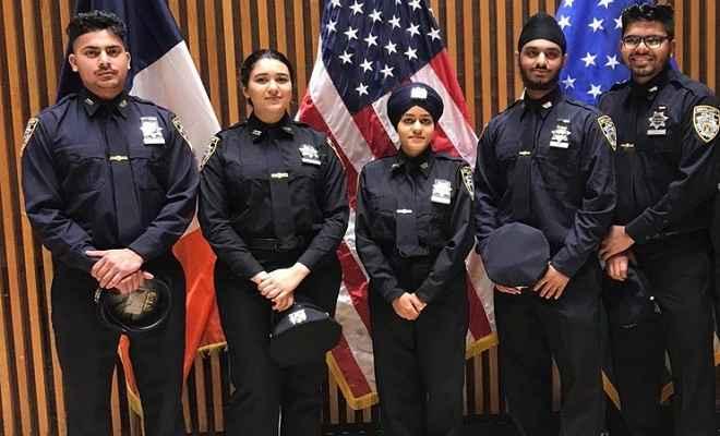 अमेरिका: न्यूयॉर्क पुलिस में पहली बार शामिल हुईं पगड़ीधारी महिला सिख ऑफिसर