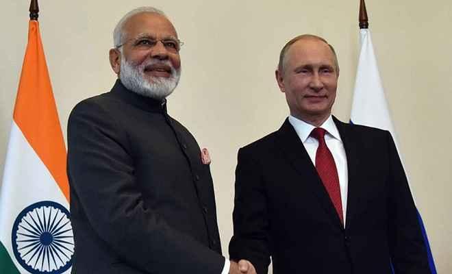 पुतिन के साथ बातचीत भारत-रूस रिश्तों को नई ऊंचाई पर ले जाएगी: प्रधानमंत्री मोदी