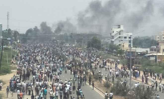 तमिलनाडु में वेदांता यूनिट के खिलाफ प्रदर्शन हुआ हिंसक, 11 लोगों की मौत
