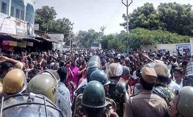तमिलनाडु के हिंसक प्रदर्शन में 11 लोगों की मौत, राहुल ने बताया- सरकार समर्थित आतंकवाद