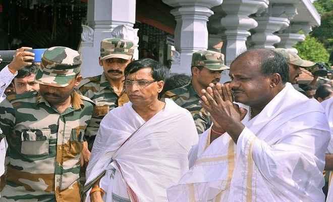 कल कर्नाटक की कमान संभालेंगे कुमारस्वामी, कांग्रेस के 22 और जेडीएस के 12 विधायक बनेंगे मंत्री