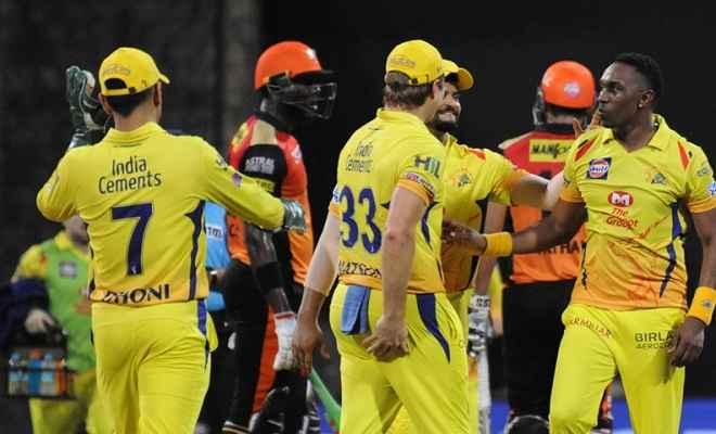 आइपीएल 2018 : रोमांचक मुकाबले में चेन्नई ने हैदराबाद को दो विकेट से हराकर पहुंचा फाइनल में