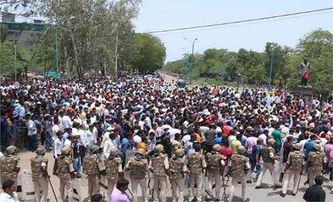 किसान आंदोलन की आहट से उड़ी सरकार की नींद, प्रदेश में हाई अलर्ट