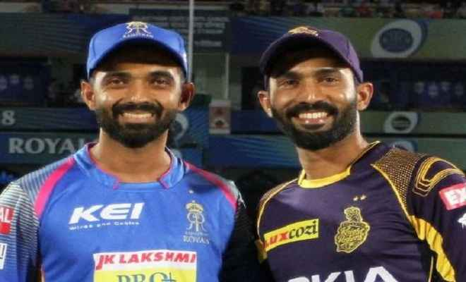एलिमिनेटर मैच में कोलकाता और राजस्थान के बीच मुकाबला आज
