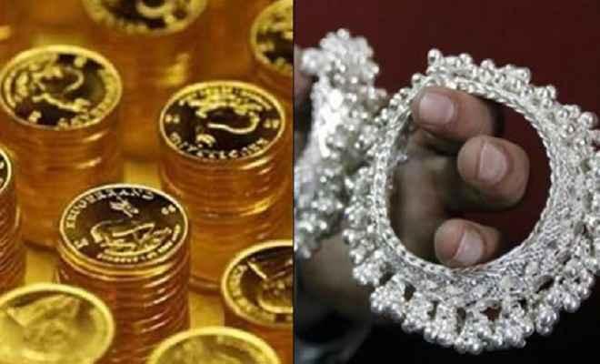 सोने की कीमतों में तेजी, चांदी के दाम गिरे
