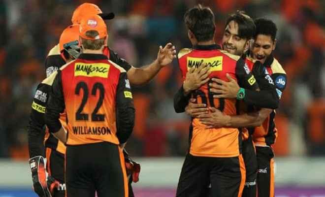कोलकाता को 14 रनों से हराकर फाइनल में पहुंचा हैदराबाद