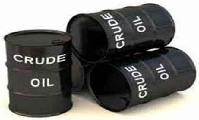 कच्चे तेल में गिरावट