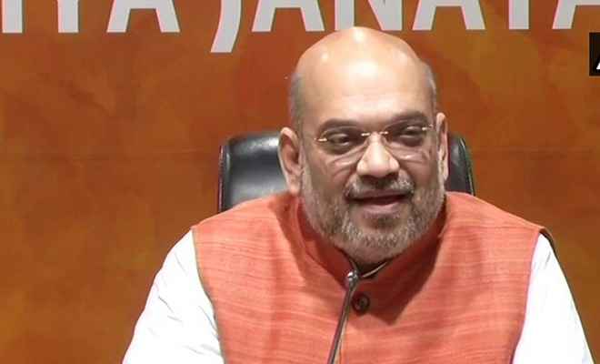 एनडीए के चार साल पूरे होने पर बोले अमित शाह, प्रधानमंत्री मोदी के आने से बदला देश