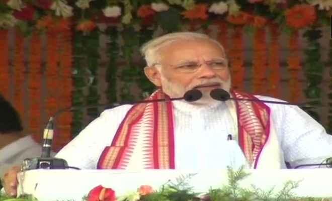 एनडीए सरकार के 4 साल: वोट बैंक पॉलिटिक्स ने देश को बर्बाद कर दिया है: प्रधानमंत्री मोदी