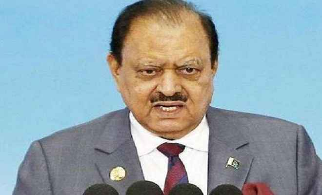 पाकिस्तान में 25 जुलाई को होंगे आम चुनाव, राष्ट्रपति ममनून हुसैन ने की घोषणा