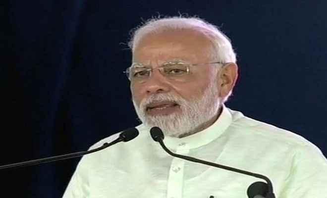 प्रधानमंत्री बोले- मोदी विरोध में देश का विरोध कर रही कांग्रेस