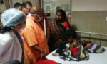 तूफान पीड़ितों से मिलने अस्पताल पहुंचे मुख्यमंत्री योगी,  दी हरसंभव मदद की आश्वासन