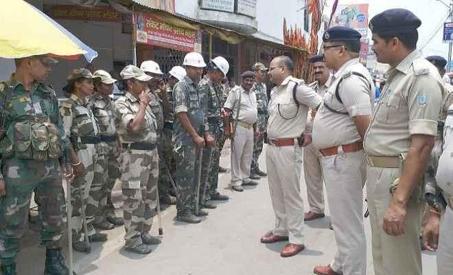 भाजयुमो की रैली पर पत्थरबाजी के बाद रांची में सुरक्षा कड़ी