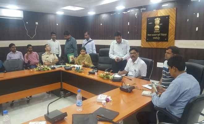 सड़क सुरक्षा को लेकर बैठक, सभी विभाग अपने दायित्वों का अनुपालन करें, सड़क दुर्घटना में आएगी कमी