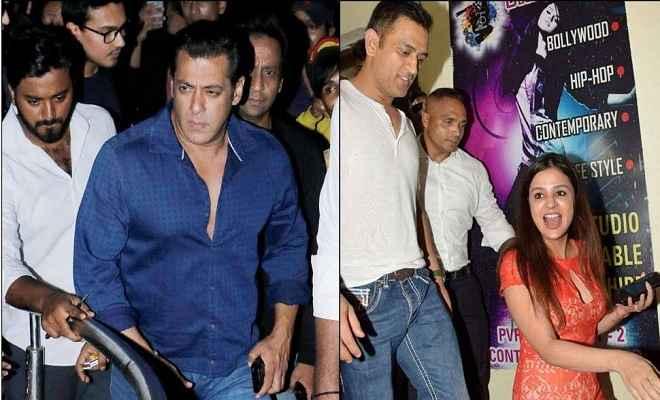 सलमान खान की ''रेस 3'' देखने के बाद धोनी की पत्नी साक्षी ने दिए कुछ ऐसे एक्सप्रेशन