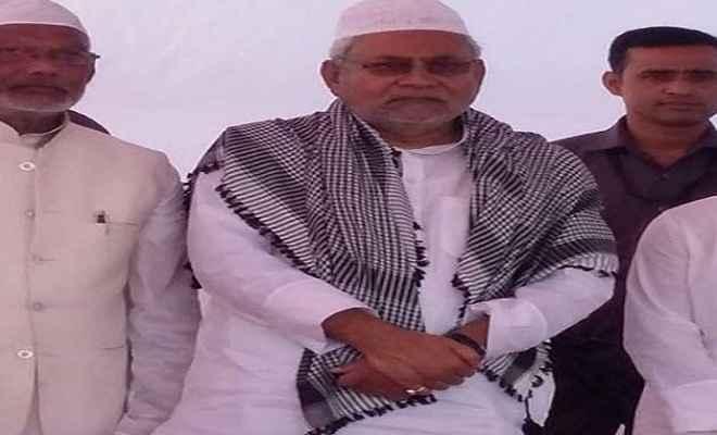 ईद मुबारक: देश में अमन-चैन कायम रहे : नीतीश कुमार