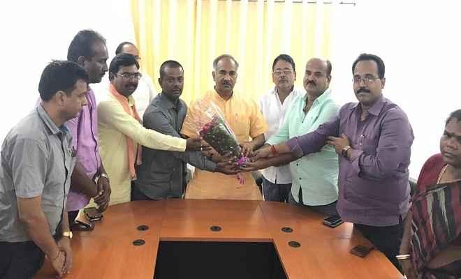 उत्तराखंड के मंत्री अरविंद पांडेय का भाजपाईयों ने किया अभिनंदन
