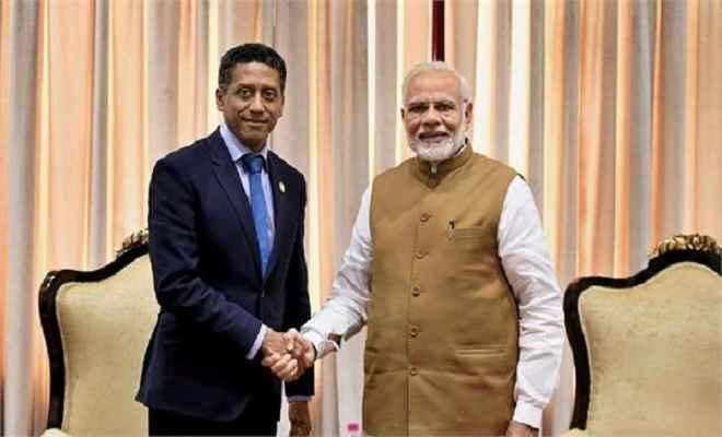 सेशेल्स राष्ट्रपति का भारत को बड़ा  झटका,  नौसैन्य बेस की डील रद्द