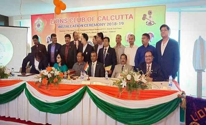 सबसे कम उम्र के लॉयंस क्लब ऑफ कोलकाता के अध्यक्ष बने ललपनिया के आनंद तिवारी