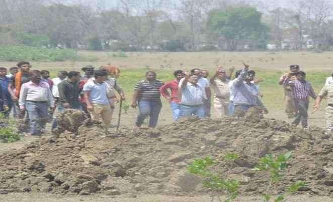 बिहार में भूमि अधिग्रहण के मामले में सियासत शुरू