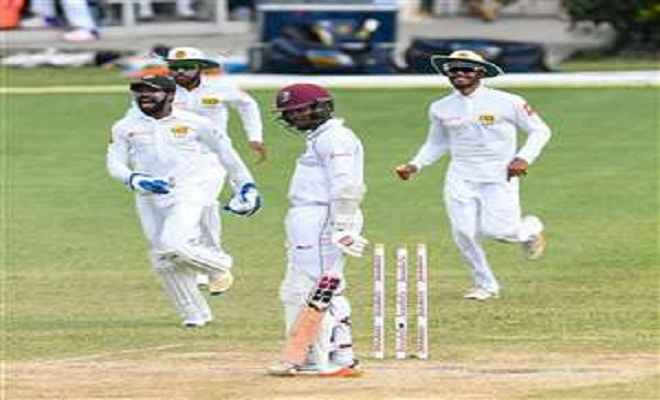 श्रीलंका की जीत में बारिश ने फेरा पानी, दूसरा टैस्ट ड्रॉ
