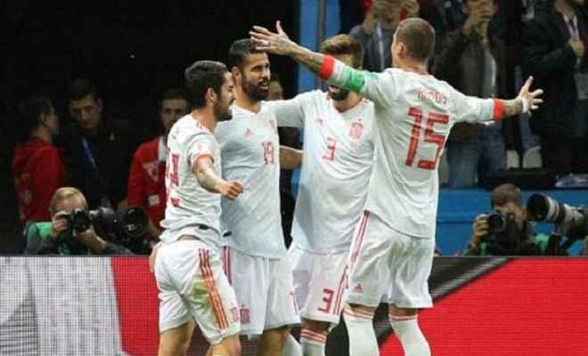 फीफा विश्वकप : स्पेन ने ईरान को 1-0 से हराया