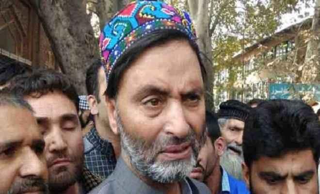 अलगाववादी नेताओं पर कार्रवाई शुरू, यासिन मलिक हिरासत में