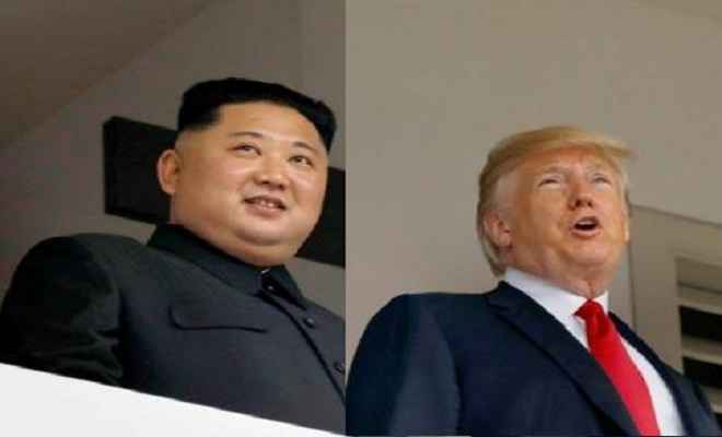 उत्तर कोरियाई सरकार की नीति के कारण असाधारण खतरा बना हुआ है : ट्रंप