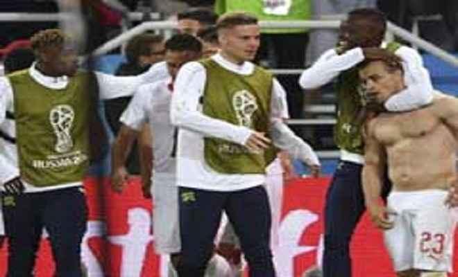 फीफा वर्ल्ड कप: स्विट्जरलैंड ने सर्बिया को 2-1 से हरा, दूसरे पायदान पर पहुंचा