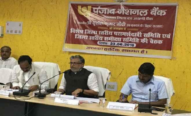 अधूरी पड़ी योजनाओं को जल्द पूरा करने का सुशील कुमार मोदी ने दिए निर्देश