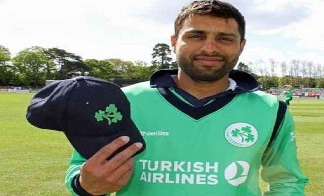 आयरलैंड की टीम में पंजाब का खिलाड़ी शामिल, भारत के खिलाफ खेलेगा टी-20 मैच