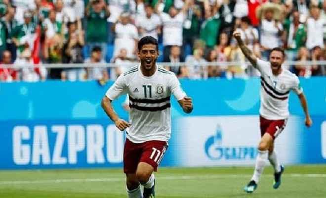 फीफा विश्वकप: जेवियर के गोल से मैक्सिको ने साउथ कोरिया को 2-1 से हराया